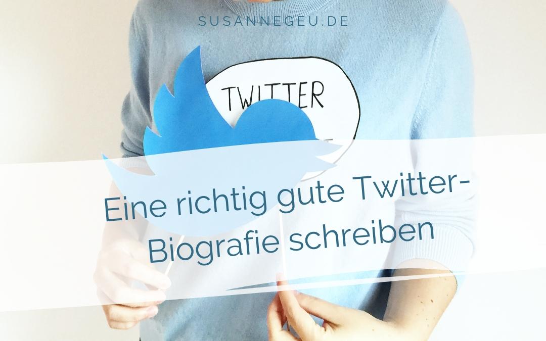 """Titelbild des Blogbeitrags """"Eine richtig gute Twitter-Biografie schreiben – Tipps, Ideen und Beispiele"""""""
